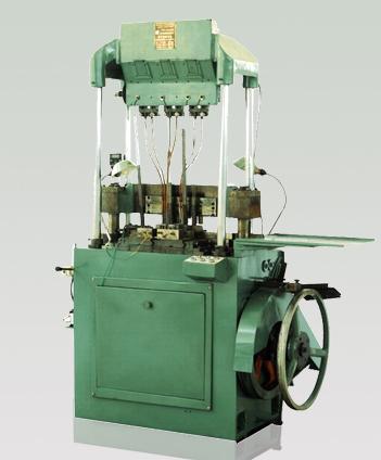 Máquina de montaje de una sola o doble fila de cadena de manga